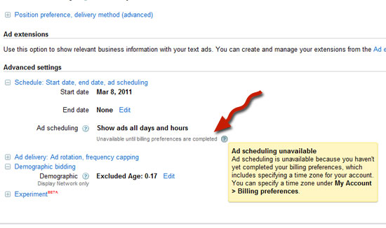 Google Ad Scheduling - What the Hell!